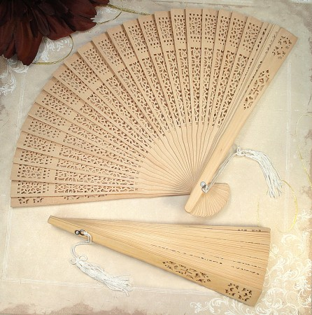 Sandal Wood Fan Real Sandalwoodwholesale/d6403.jpg Wedding Supplies