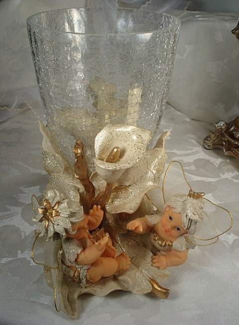 Large Fairy Vase Centerpiece baby shower favors