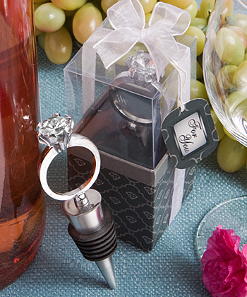 Diamond Engagement Ring Wine Bottle Stopperswholesale/favors_2014/1941.jpg Wedding Supplies