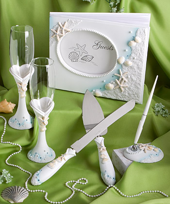 Beach Themed Wedding Day Accessories  Weddings