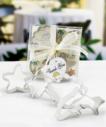 Beach-Themed Cookie Cutter Sets Weddings