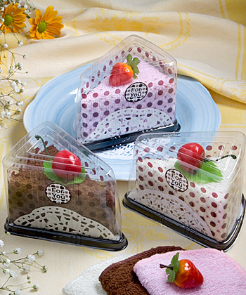 CLEARANCE Slice Of Cake Towel Favorwholesale/favors_2014/5231.jpg Wedding Supplies