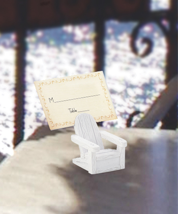 Adirondack Chair Place Card Holders  Weddings