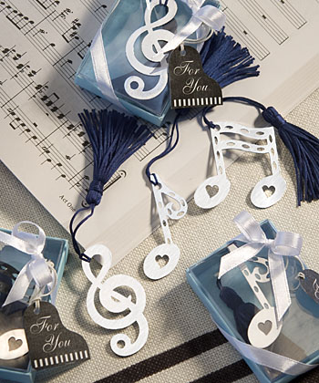 Musical Note Bookmark Favorswholesale/favors_2014/6474.jpg Wedding Supplies