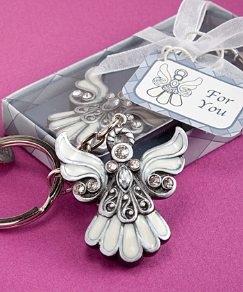 Angel Keychain Favors baby shower favors