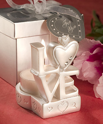 Love Candle Holder Favorswholesale/favors_2014/8104.jpg Wedding Supplies