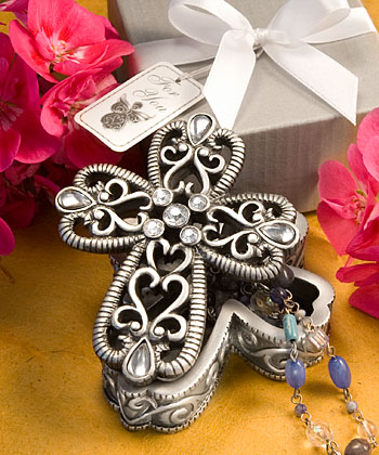 Cross Curio Boxes From The Heavenly Favorswholesale/favors_2014/8630.jpg Wedding Supplies