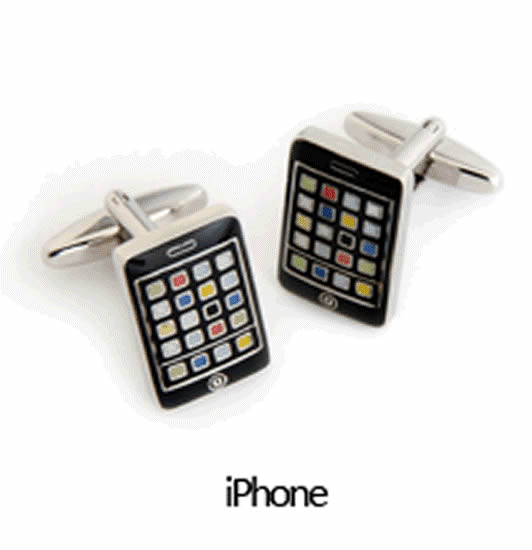 Iphone Cuff Links Personalized with Box  Weddings