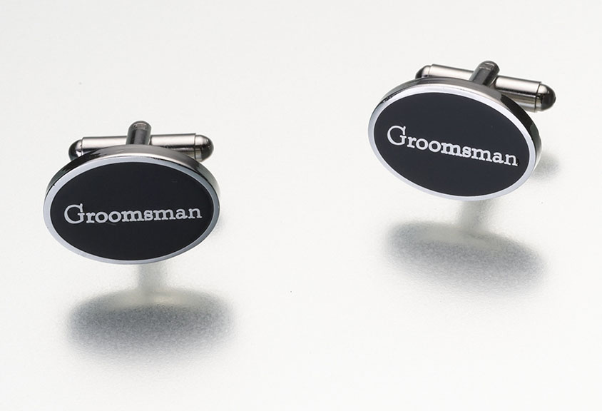CLEARANCE Groomsman Cufflinkswholesale/groomsman.jpg Wedding Supplies