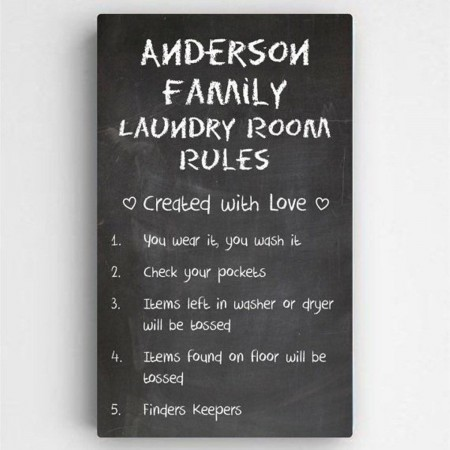 Laundry Room Rules200  Weddings