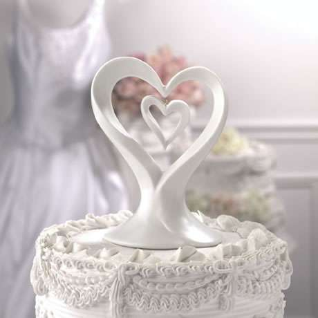 Heart in Heart Cake Topper - Two Hearts Cake Topperwholesale/wedding-cake-toppers/CT320-2.jpg Wedding Supplies