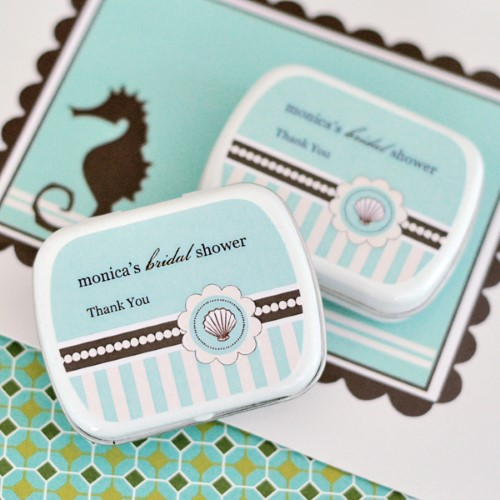 Personalized Mint Tins - Beach Party - Wholesale  Weddings