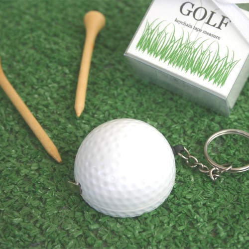 A Leisurely Game of Love Golf Ball Tape Measure - Wholesale200  Weddings