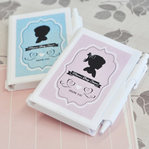 Vintage Baby Personalized Notebook Favors  - Wholesale baby shower favors