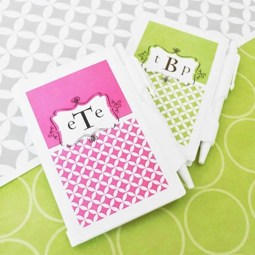 Mod Monogram Personalized Notebook Favorswholesale/wedding-favors-eb/EB2023M_large1.jpg Wedding Supplies