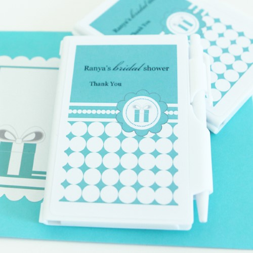 Personalized Notebook Favors - Something Blue  - Wholesalewholesale/wedding-favors-eb/EB2023SB_large1.jpg Wedding Supplies