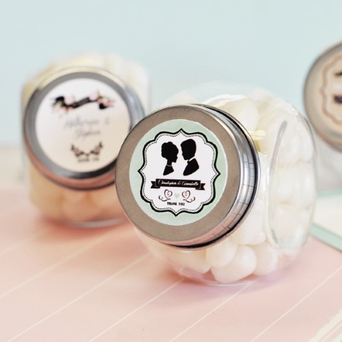 Vintage Wedding Personalized Candy Jars  - Wholesalewholesale/wedding-favors-eb/EB2025WV_large1.jpg Wedding Supplies