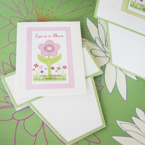 Flowers in Bloom Seed Packets Favors + Flower Pot Card200  Weddings