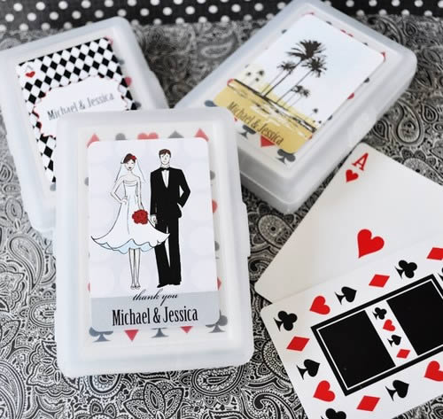 Elite Design Playing Cards Favor  Weddings