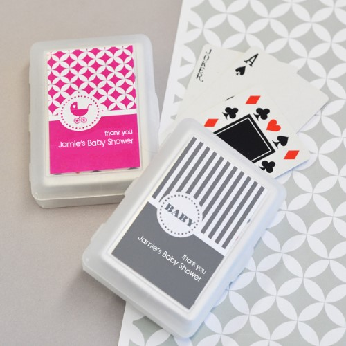 MOD Pattern Baby Playing Cards - Wholesale baby shower favors