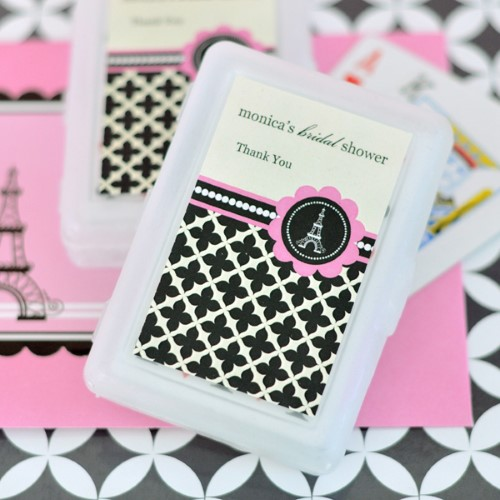 Personalized Playing Cards - Parisian Party - Wholesalewholesale/wedding-favors-eb/EB2033PP_large1.jpg Wedding Supplies