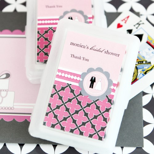 Personalized Playing Cards - Wedding Shower - Wholesale  Weddings