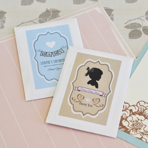 Vintage Baby Personalized Seed Packets  - Wholesale baby shower favors