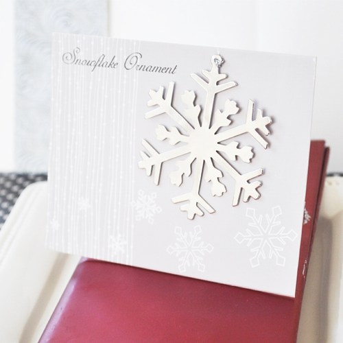 Silver Snowflake Ornament Holiday Favors200  Weddings