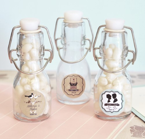 Vintage Wedding Personalized Mini Glass Bottles  - Wholesalewholesale/wedding-favors-eb/EB2150WV_large1.jpg Wedding Supplies