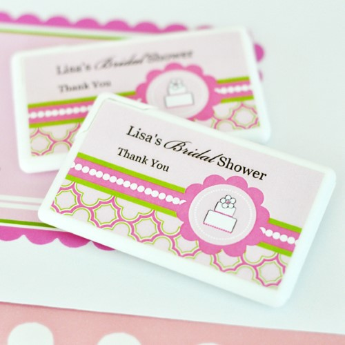 Personalized Mini Mint Favors - Pink Cake  - Wholesalewholesale/wedding-favors-eb/EB2211PC_large1.jpg Wedding Supplies