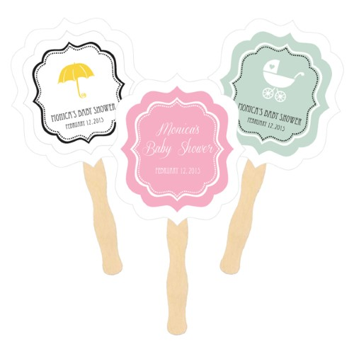 Personalized Paddle Fans - Baby  - Wholesalewholesale/wedding-favors-eb/EB2354B_large1.jpg Wedding Supplies