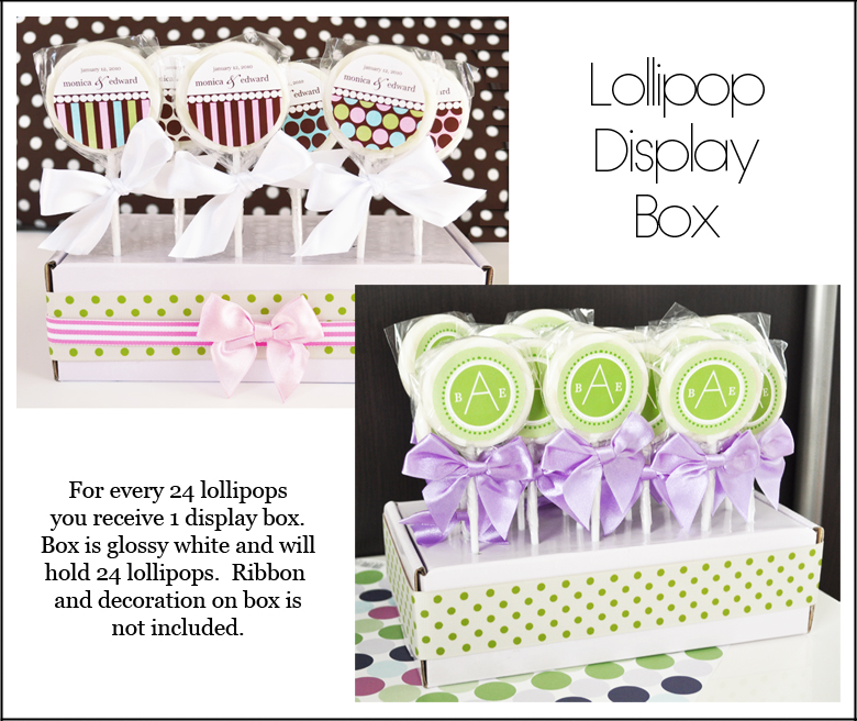 Personalized Kids Birthday Lollipop Party Favors Wholesale