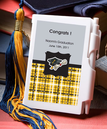 Personalized Notebook Graduation Favors200  Weddings