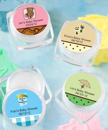 Personalized Lip Balm Baby Shower baby shower favors