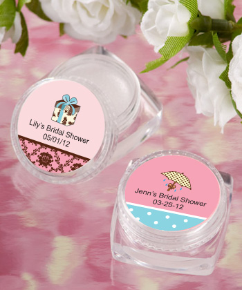 Personalized Lip Balm Bridal Shower Favors200  Weddings