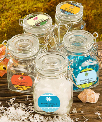 Personalized Apothecary Jar Fall Wedding Favors200  Weddings