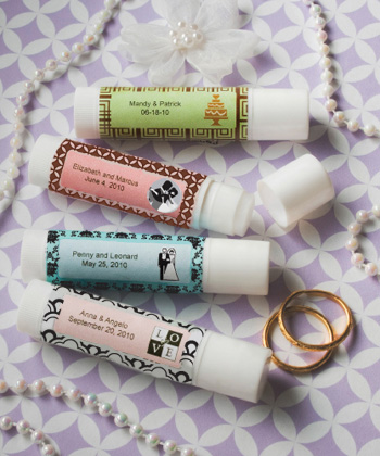 Personalized Party Collection Lip Balm Favors200  Weddings
