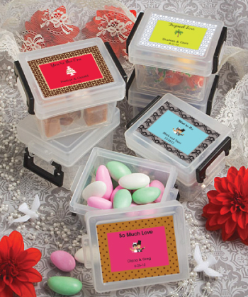 Design Your Own Mini Container Favors Weddings