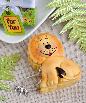CLEARANCE Friendly Lion Design Trinket Box baby shower favors