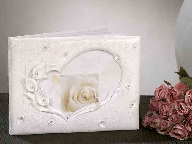 Calla Lily Wedding Guest Book Weddings