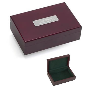 Cherry Finish Keepsake Box Weddings