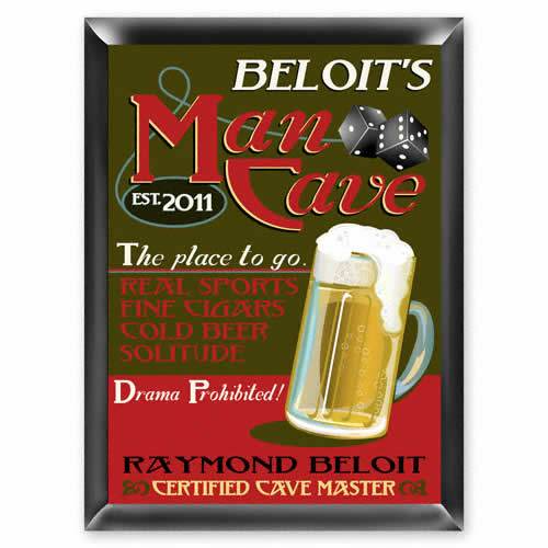 Man Cave Sign Weddings