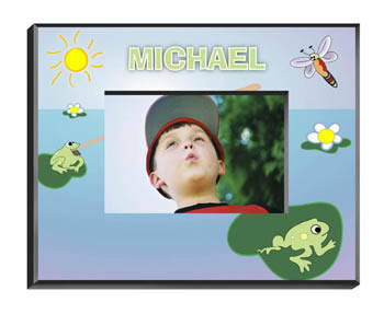 Personalized Kids Frog Frame200  Weddings
