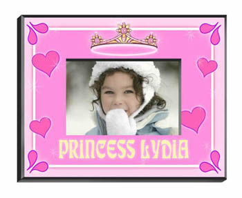Personalized Princess Frame baby shower favors