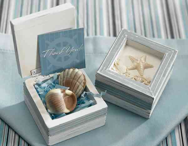 Beach Wedding Wooden Trinket Boxes (12) Weddings